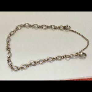 James Avery Sterling Silver Charm Bracelet